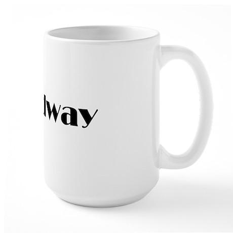 Broadway Large Mug