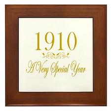 1910 Framed Tile