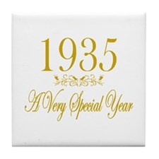 1935 Tile Coaster