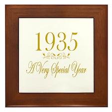 1935 Framed Tile