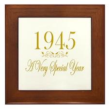 1945 Framed Tile