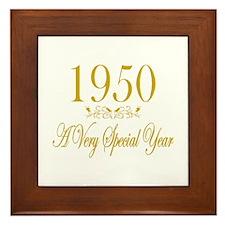 1950 Framed Tile