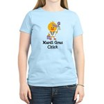 Mardi Gras Chick Women's Light T-Shirt