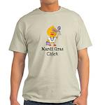 Mardi Gras Chick Light T-Shirt