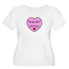 Party Girl USA - Valentines 2 T-Shirt