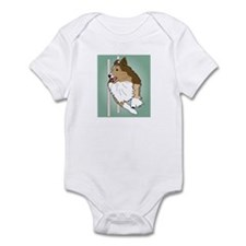 Agility Sheltie Infant Bodysuit