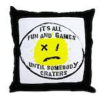 Fun & Games Throw Pillow