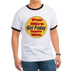 For Hire Girl Friday T