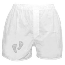 Beautiful Baby Feet by Leslie Boxer Shorts