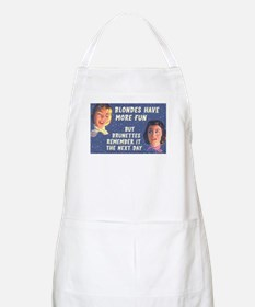 Blondes Have More Fun BBQ Apron