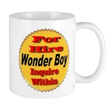 For Hire Wonder Boy Mug