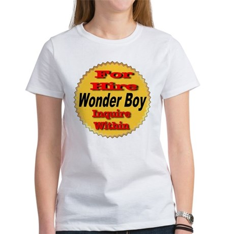 For Hire Wonder Boy Women 39 S Classic White T Shirt For Hire
