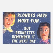 Blondes Have More Fun Postcards (Package of 8)