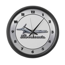 Barracuda Logo Large Wall Clock