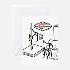 stick figure stripper stationery  cards, invitations, greeting, Birthday card