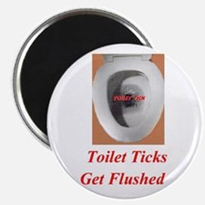 Toilet Ticks Magnet