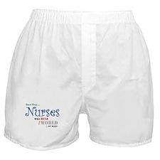 Nurses Will Rule The World Boxer Shorts