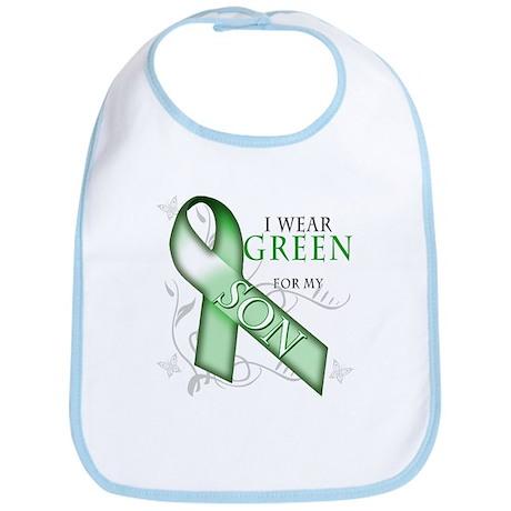 I Wear Green for my Son Bib