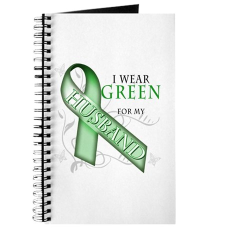 I Wear Green for my Husband Journal