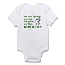 Pump Our Fists Infant Bodysuit
