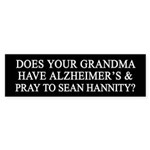 Grandma Sean Hannity Bumper Sticer