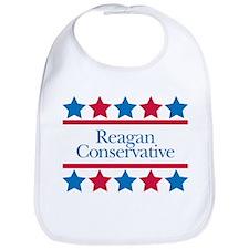 Reagan Conservative Bib