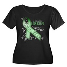 I Wear Green for my Daughter T