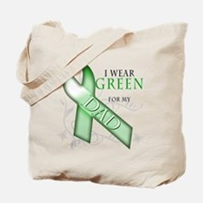 I Wear Green for my Dad Tote Bag