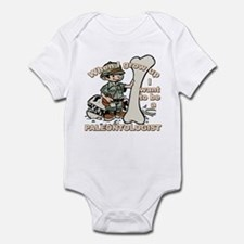 When I grow up Paleontologist Infant Bodysuit