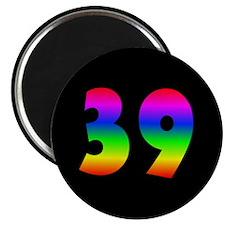 39th Birthday Magnet