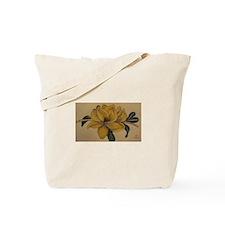 Yellow Magnolia Tote Bag