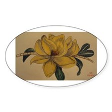 Yellow Magnolia Decal