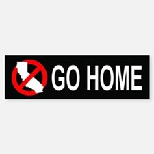 Californians, Go Home Bumper (10 pk)