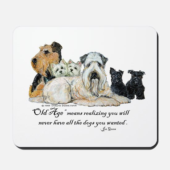 Love Dogs Mousepad