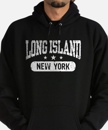 Long Island New York Hoodie (dark)