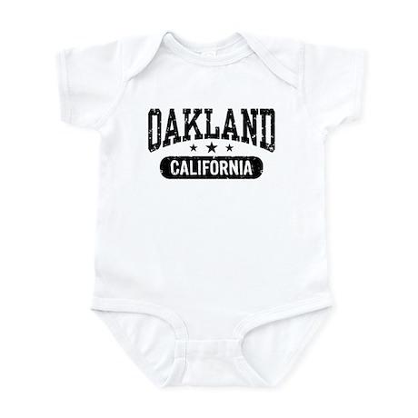 Oakland California Infant Bodysuit