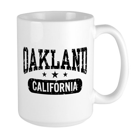 Oakland California Large Mug
