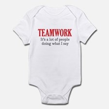 Teamwork Infant Bodysuit