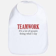 Teamwork Bib