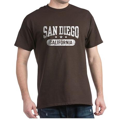 San Diego California Dark T-Shirt