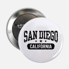 "San Diego California 2.25"" Button"
