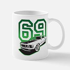 '69 Mustang in Bullit Green Mug