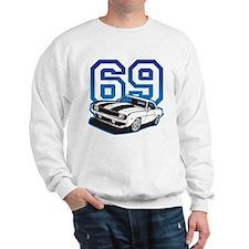 '69 Camaro in Blue Sweatshirt