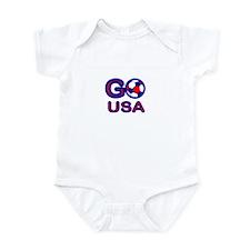 USA Soccer Go USA Infant Bodysuit