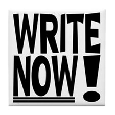 WRITE NOW! Tile Coaster