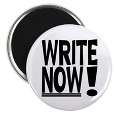 """WRITE NOW! 2.25"""" Magnet (10 pack)"""
