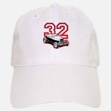 '32 Roadster in Red Baseball Baseball Cap