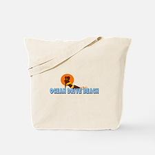 Ocean Drive Beach SC - Sunbathing Design Tote Bag