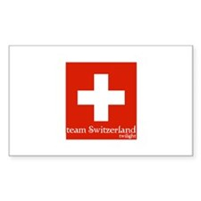 team Switzerland Rectangle Decal