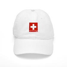 team Switzerland Baseball Baseball Cap